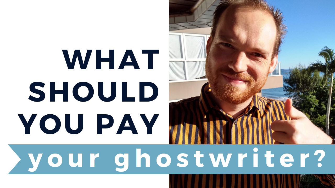 Ghostwriting services fees