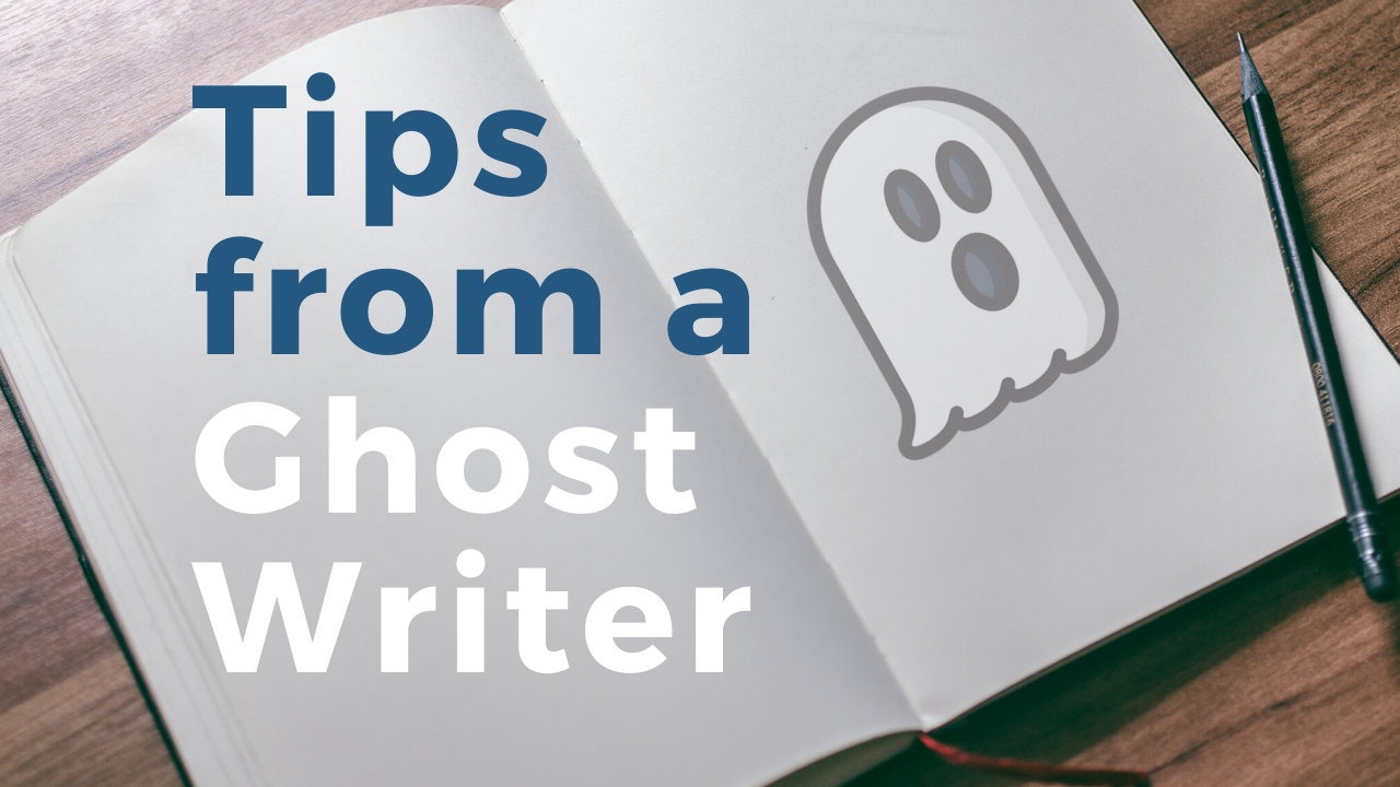 A Bestselling Ghostwriter's Tips on Writing a Book for the First Time
