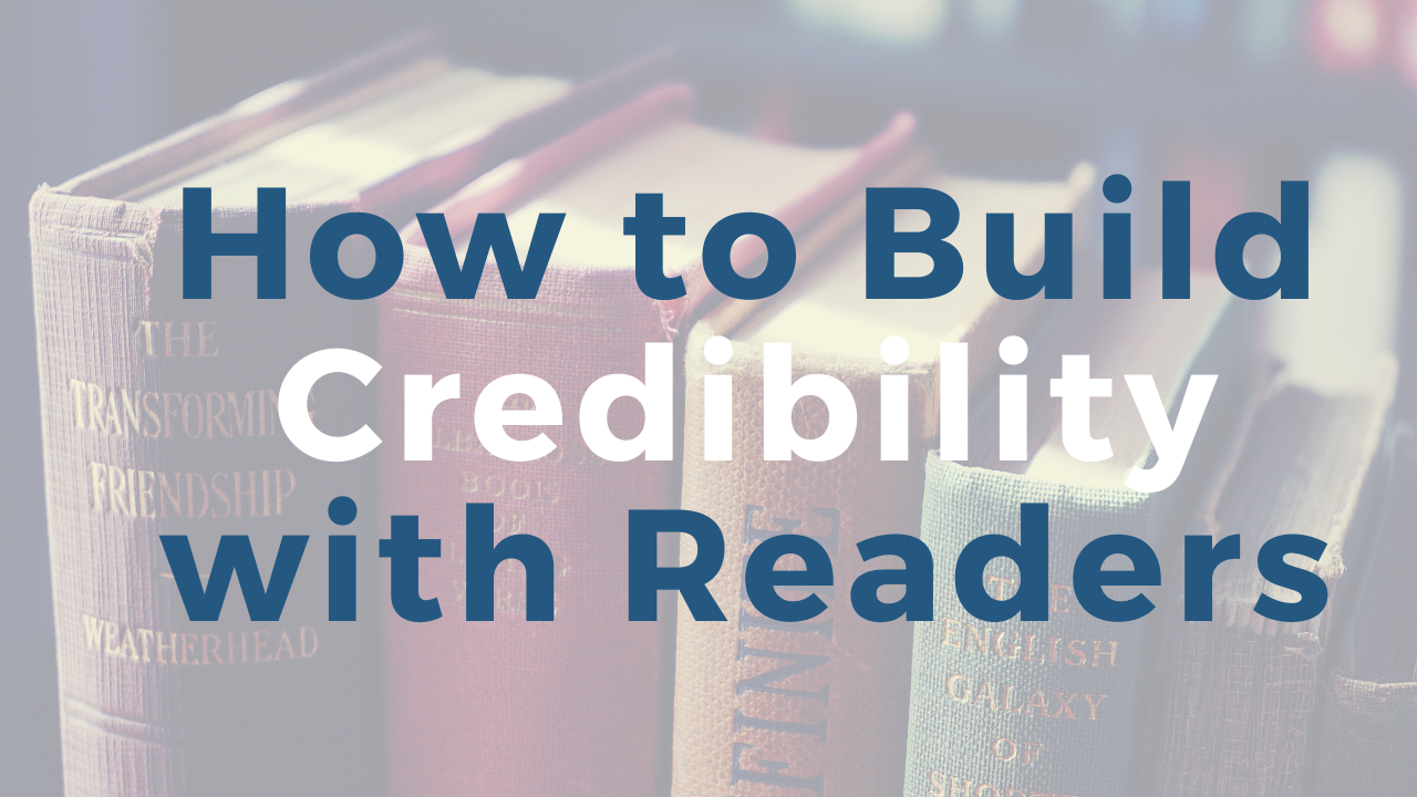 Writing a Non Fiction Book That Builds Credibility with Readers   How to Establish Credibility
