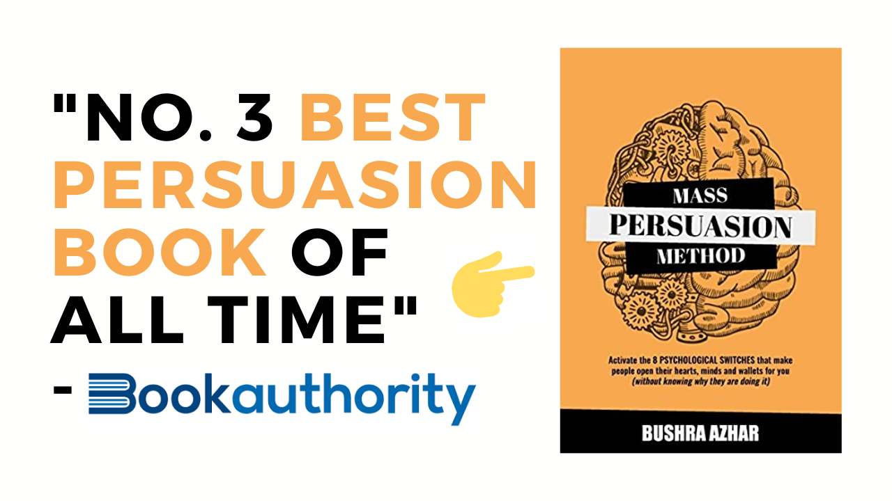 Book Authority Says My Client Has One of the Best Persuasion Books   How to Write a Good Book
