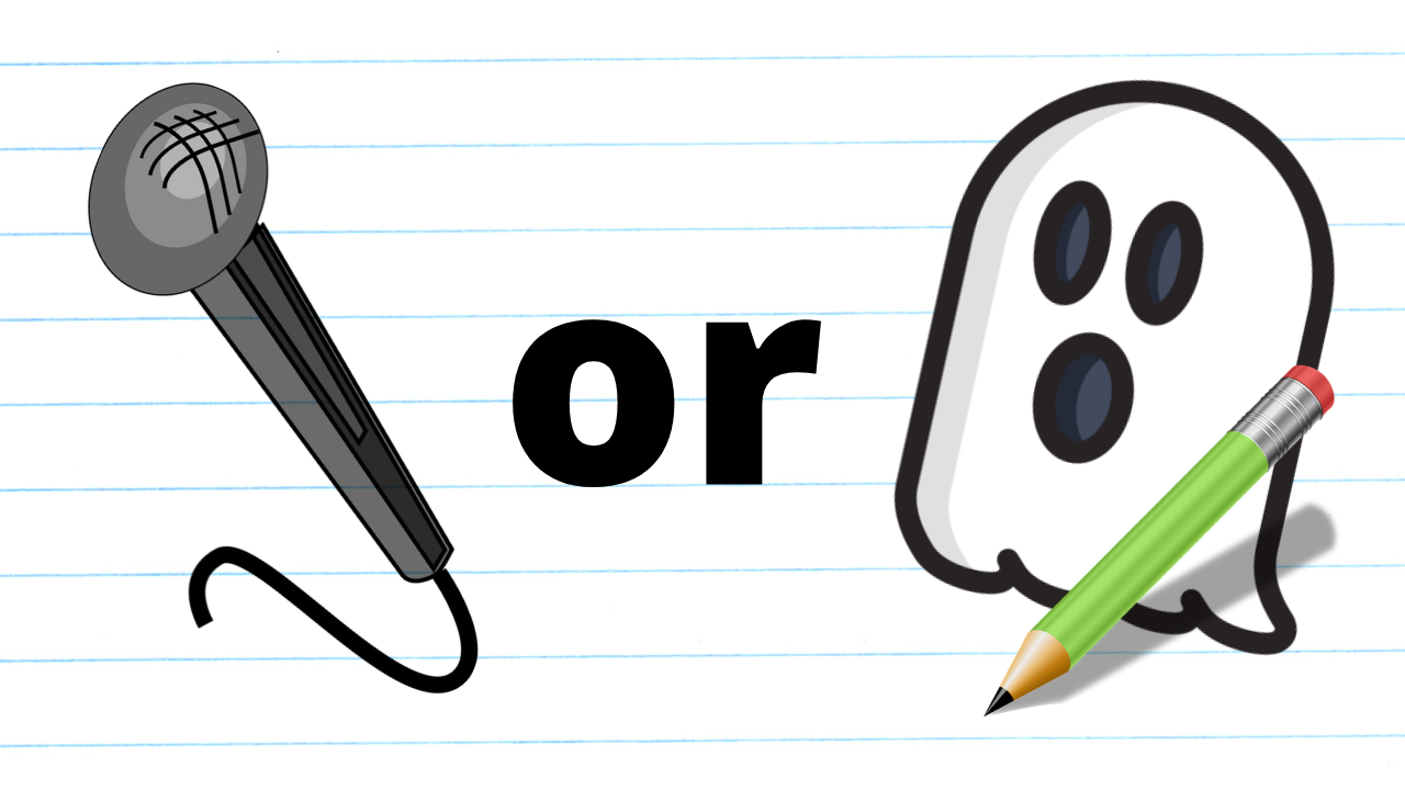 Should You Get a Ghostwriter or a Scribe Professional?