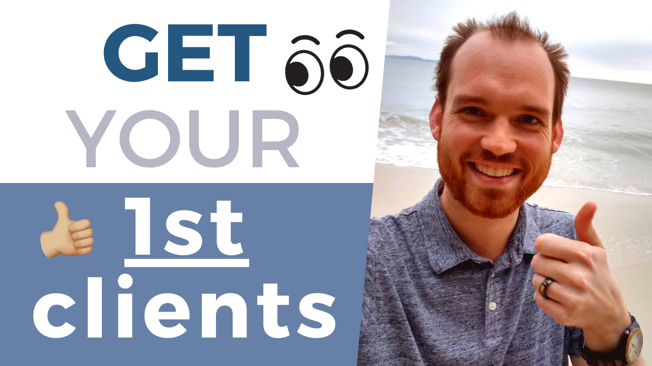 How to Get Clients for a New Business | A $2,000 Tip | How to Get Clients as a Freelancer